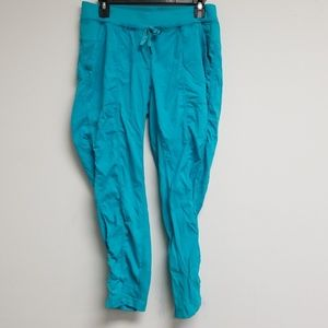 Lululemon Athletica Blue Tie Front Pants Size 10